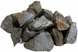 Bulk Magnetic Lodestone (Magnetite) - 5 Pieces
