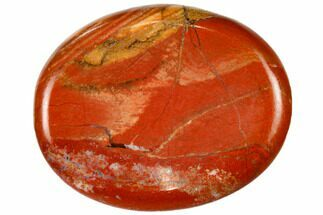 "2"" Polished Red Jasper Worry Stone"