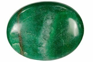 "1.8"" Polished Green Aventurine Pocket Stone"