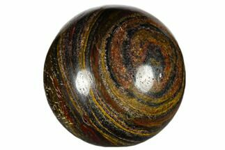"1.2"" Polished Tiger Iron Sphere"