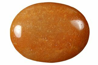 "1.8"" Polished Red Aventurine Pocket Stone"