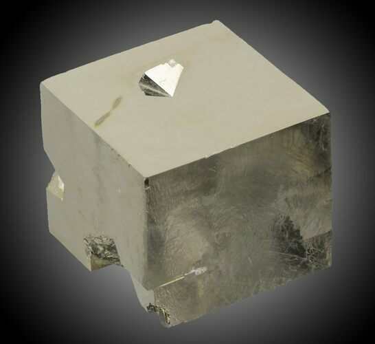 "1.7"" Wide Pyrite Cube - Navajun, Spain"