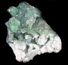 "Buy 1.7"" Green Fluorite & Druzy Quartz - Colorado - #33367"