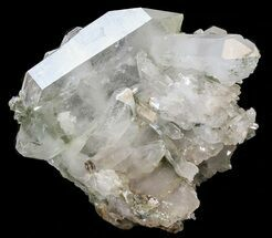 "2.8"" Faden Quartz with Chlorite - Pakistan For Sale, #38627"
