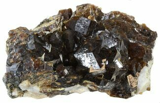 Garnet, Mica & Feldspar - Fossils For Sale - #38703