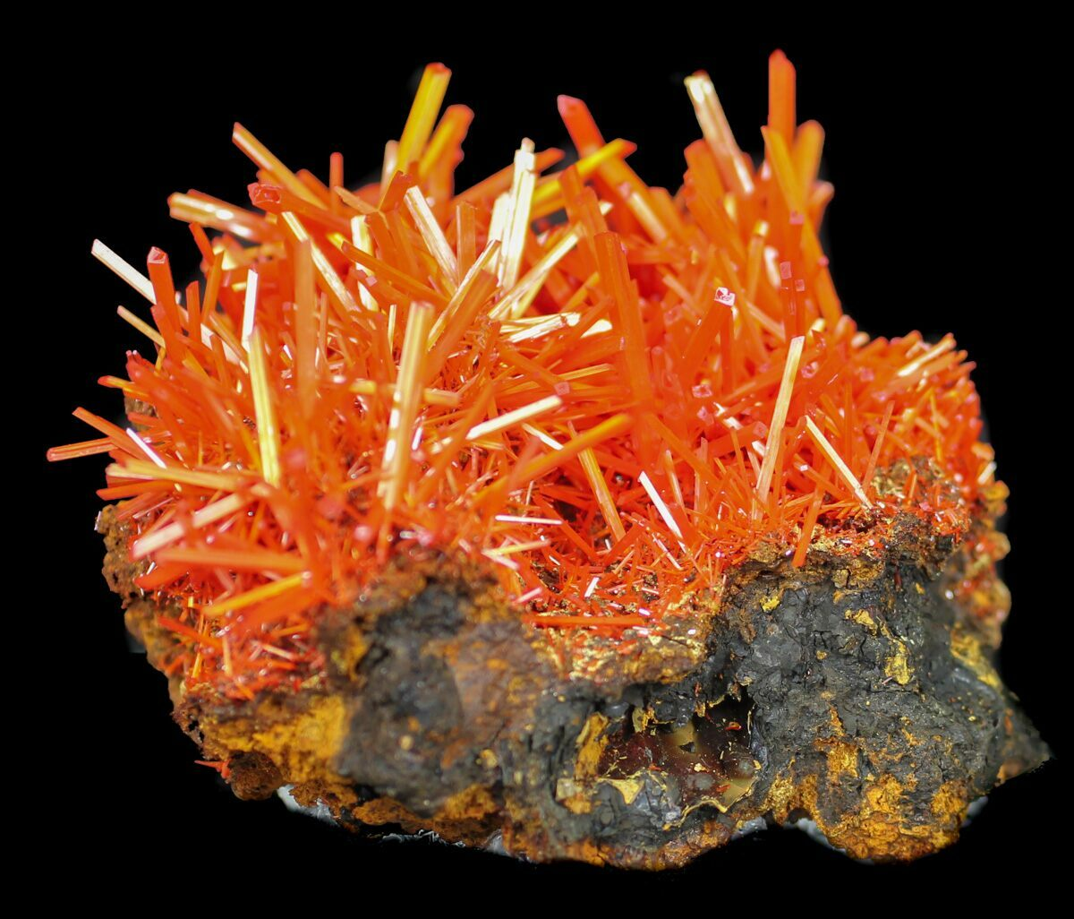 "3"" Wide Crocoite Specimen From Tasmania - Killer Specimen"