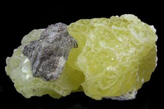 "2.0"" Rare, Lemon-Yellow Brucite - Balochistan, Pakistan For Sale, #40406"
