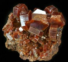"Buy 1.7"" Deep Red Vanadinite Cluster (Extra Large Crystals)  - #42202"