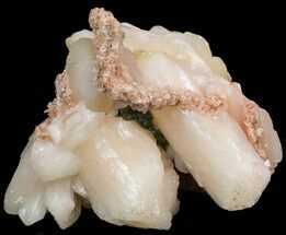 "Buy 4.2"" Peach Stilbite Crystal Cluster - India - #44302"