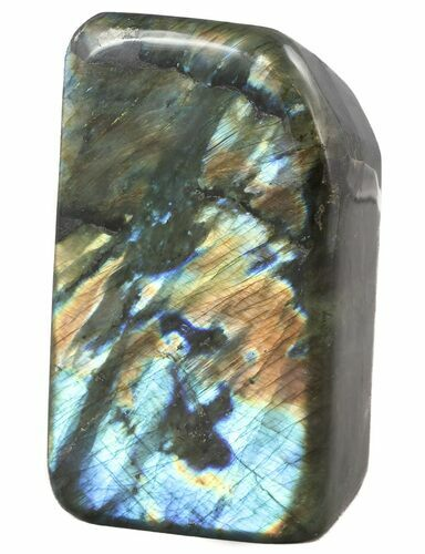 "5.5"" Flashy Polished Free Form Labradorite - 7 lbs"