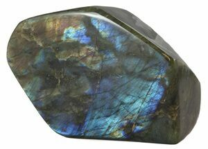 "6.5"" Flashy Polished Free Form Labradorite For Sale, #45197"
