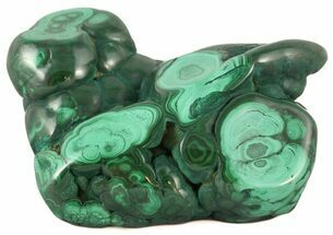 "Buy 3.8"" Polished Malachite Specimen - Congo - #45259"