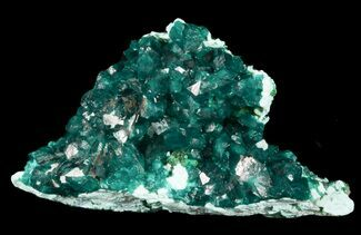 Dioptase & Plancheite - Fossils For Sale - #45300