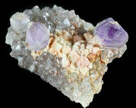 Buy Amethyst Crystals in Quartz Matrix - Kazakhstan - #46039