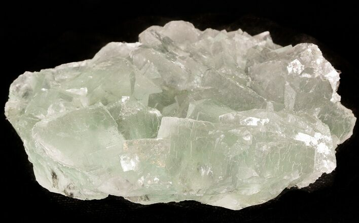 "4.0"" Green Fluorite Crystal Cluster - China"