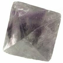 "1.7"" Fluorite Octahedron - Translucent Purple/Green For Sale, #48278"