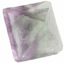 "1.76"" Fluorite Octahedral Crystal - Purple/Green Translucent  For Sale, #48443"