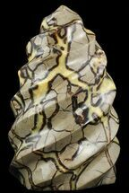 "12"" Polished Septarian ""Twist"" Sculpture - 30 lbs For Sale, #51485"
