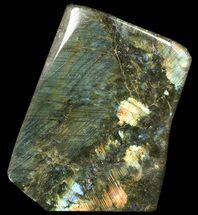 "Buy 9.5"" Flashy Polished Labradorite From Madagascar -16 lbs - #51847"