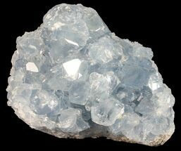 "3.2"" Sky Blue Celestite Crystal Cluster - Madagascar For Sale, #54806"