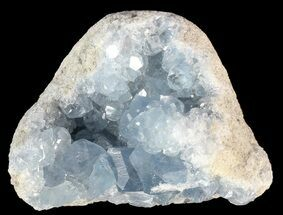 "2.7"" Sky Blue Celestite Crystal Cluster - Madagascar For Sale, #54809"