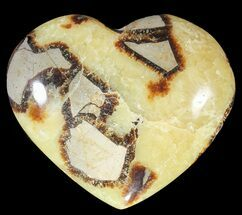 "Buy 3.7"" Polished Septarian ""Heart""  - #54691"