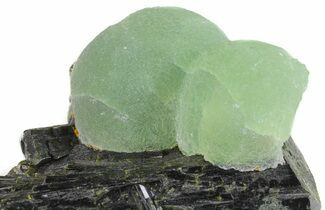 "2.4"" Prehnite Spheres with Epidote - Mali For Sale, #56108"