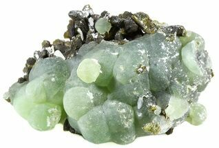 Prehnite, Epidote and Stilbite - Fossils For Sale - #56094