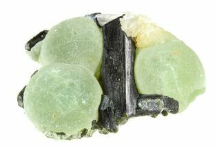 "1.6"" Prehnite Spheres with Epidote - Mali For Sale, #56099"