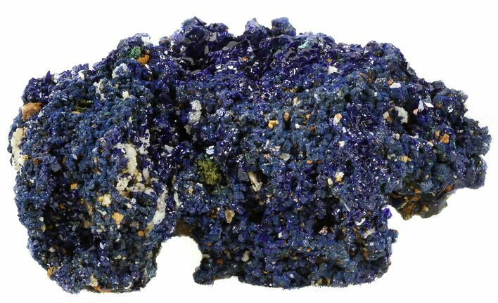 "2.2"" Sparkling Azurite Crystal Cluster - Laos"