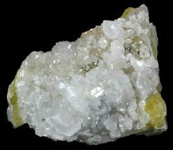 "3.2"" Calcite, Quartz, Pyrite and Fluorite Association - Morocco For Sale, #57275"