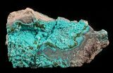 "3.8"" Light Blue Chrysocolla - Congo - #58945-1"