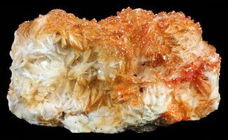 "3.6"" Red Vanadinite Crystals on Barite - Morocco For Sale, #60773"