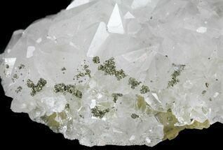"Buy 3.4"" Quartz, Fluorite and Pyrite Crystal Association - Morocco - #61432"