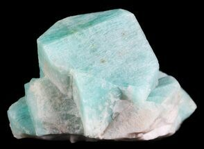 Microcline var. Amazonite - Fossils For Sale - #61380