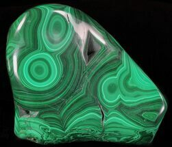"4.4"" Polished Malachite - Congo For Sale, #63752"