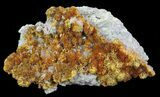"2.9"" Orpiment With Barite Crystals - Peru - #63801-1"
