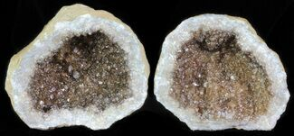 "Buy 2.6"" Keokuk Geode with Calcite Crystals - Missouri - #62266"