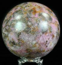 "2.6"" Polished Cobaltoan Calcite Sphere - Congo For Sale, #63905"