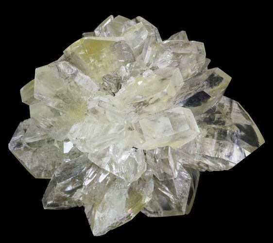 "2.95"" Twinned Selenite Crystals (Fluorescent) - Red River Floodway"