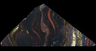 "Buy 5.7"" Polished Tiger Iron Stromatolite - (2.7 Billion Years) - #65527"