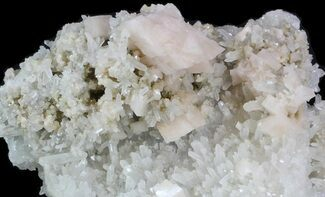Dolomite, Quartz & Pyrite - Fossils For Sale - #32679