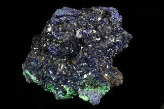 Azurite & Malachite - Fossils For Sale - #69729