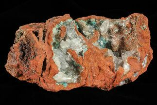 Rosasite & Selenite - Fossils For Sale - #69483