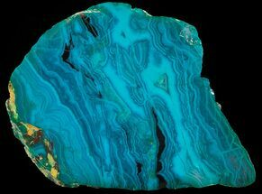 Chrysocolla & Malachite - Fossils For Sale - #69510