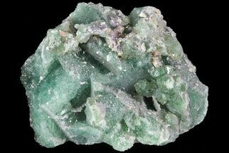 "Buy 1.7"" Green Fluorite & Druzy Quartz - Colorado - #33382"