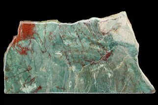 "7.1"" Polished Fuchsite Chert (Dragon Stone) Slab - Australia For Sale, #70850"