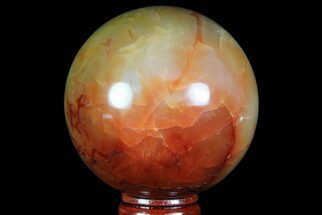"Buy 2.7"" Colorful Carnelian Agate Sphere - Madagascar - #70954"