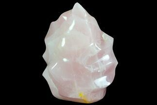 "Buy 7"" Tall Polished Rose Quartz ""Flame"" Sculpture  - #71401"
