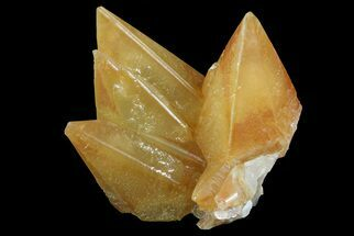 "Pristine, 2.7"" Orange, Calcite Crystals - Bern, Switzerland For Sale, #71387"
